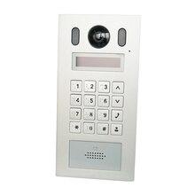 DH VTO6221E P PoE(802.3af) IP Metal Apartmen timbre, teléfono de puerta, timbre, IP Video intercomunicador, llamada a la aplicación de teléfono, firmware SIP