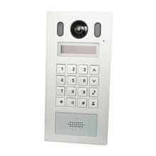 Dh VTO6221E P poe (802.3af) ip metal apartmen campainha, telefone da porta, campainha, vídeo porteiro ip, chamada para telefone app, sip firmware