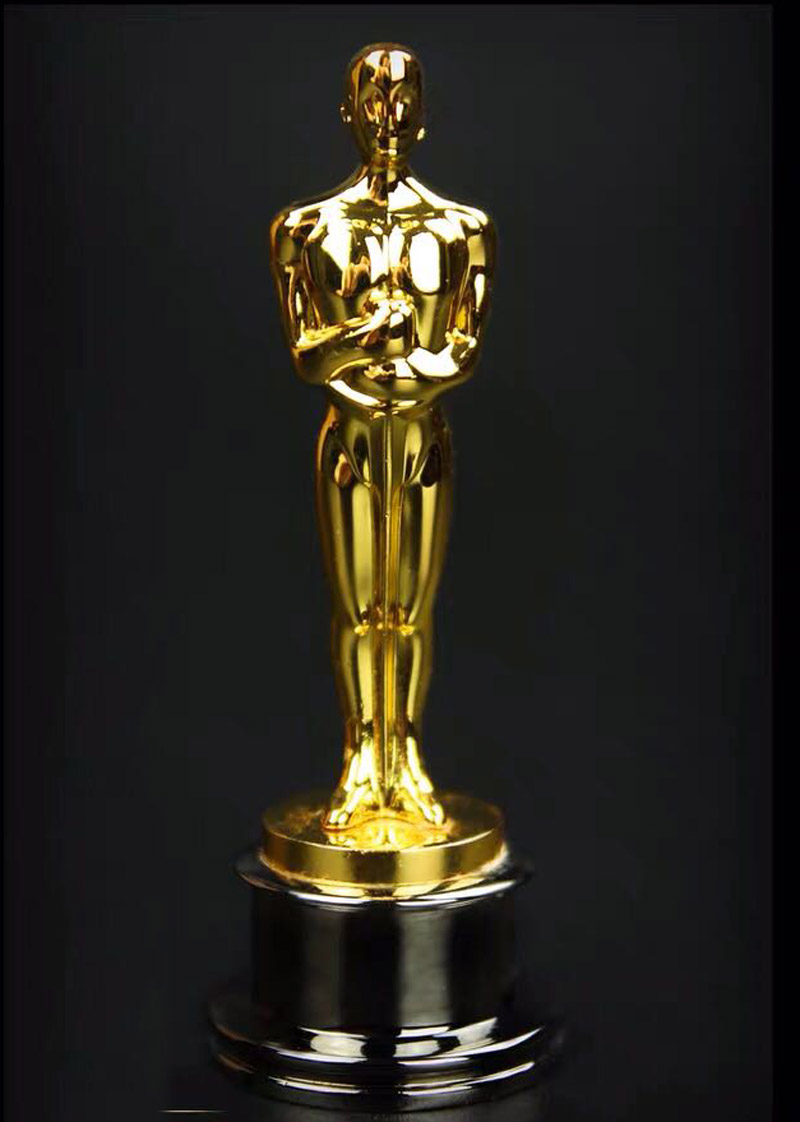 Collection 1/6 Scale Oscar Statuette Model For 12in Action Figure Accessories Toys