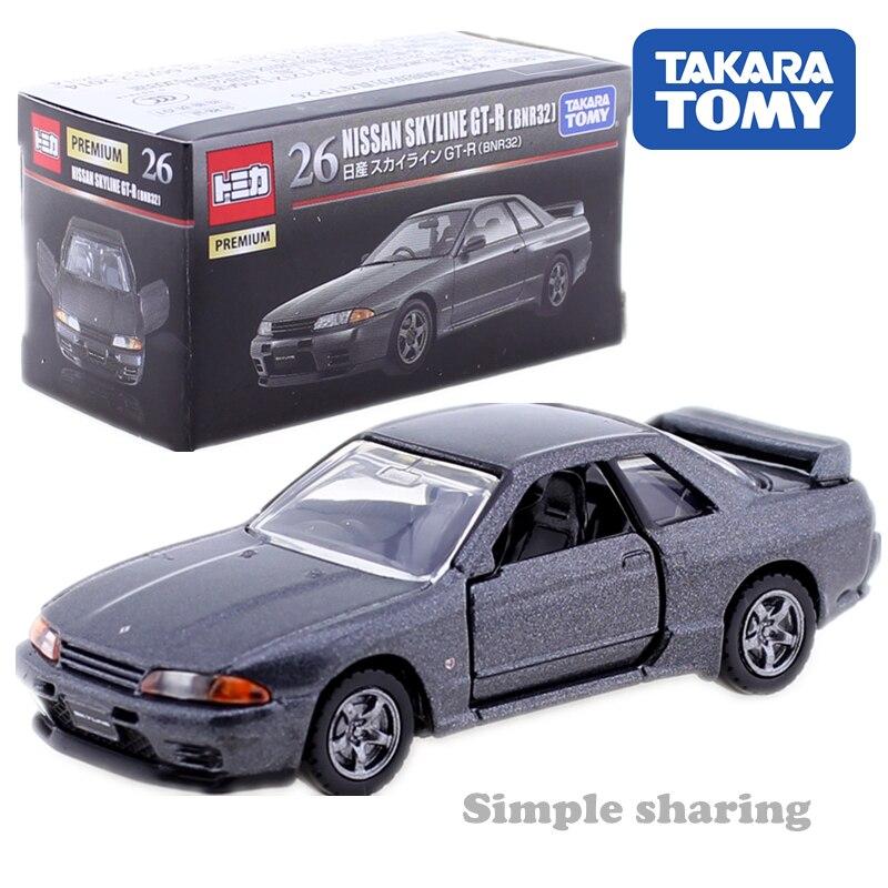 TOMICA PREMIUM NO. 26 NISSAN SKYLINE GT-R BNR32 1:62 TAKARA TOMY AUTO Sports Car Motors Vehicle Diecast Metal Model New Toys