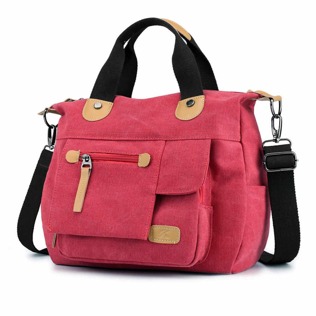 Женская Холщовая Сумка большой емкости с верхней ручкой, сумки на плечо, винтажная Повседневная сумка через плечо, женские сумки, женские сумки