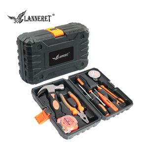 Image 5 - LANNERET 8 stücke Hand Tool Set Tool Kit mit Schraubendreher Test Bleistift Hammer Hand Werkzeuge BMC Box