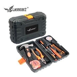 Image 5 - LANNERET 8pcs יד כלי סט כלי ערכת עם מברג מבחן עיפרון פטיש יד כלים BMC Box