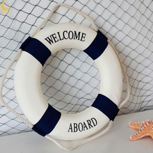 Foam Home Decor Nautical Decorative Lifebuoy Life Ring Wall Hanging Room Bar Decoration
