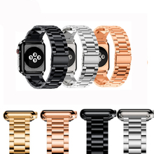 EIMO pulseira Stainless Steel For Apple Watch 4 Band 38mm 42mm iwatch series 3 2 1 38mm/42mm correa urvo watchband 42mm 38mm for apple watch s3 series 3