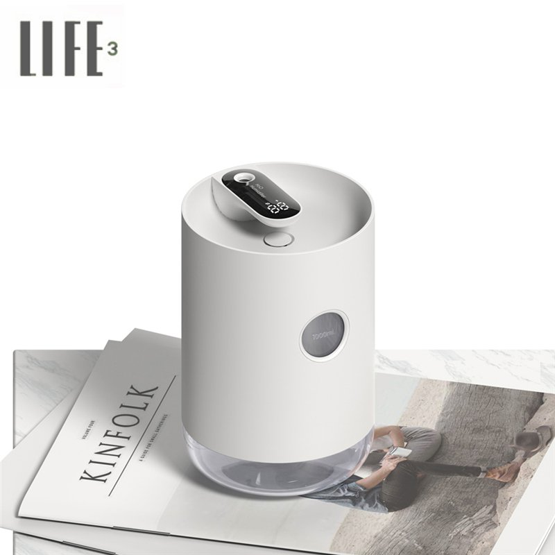 3Life 211 USB Charging Humidifier LED Night Light Display Home Air Purifier Two Mode Adjuster Air Humidifier With LED
