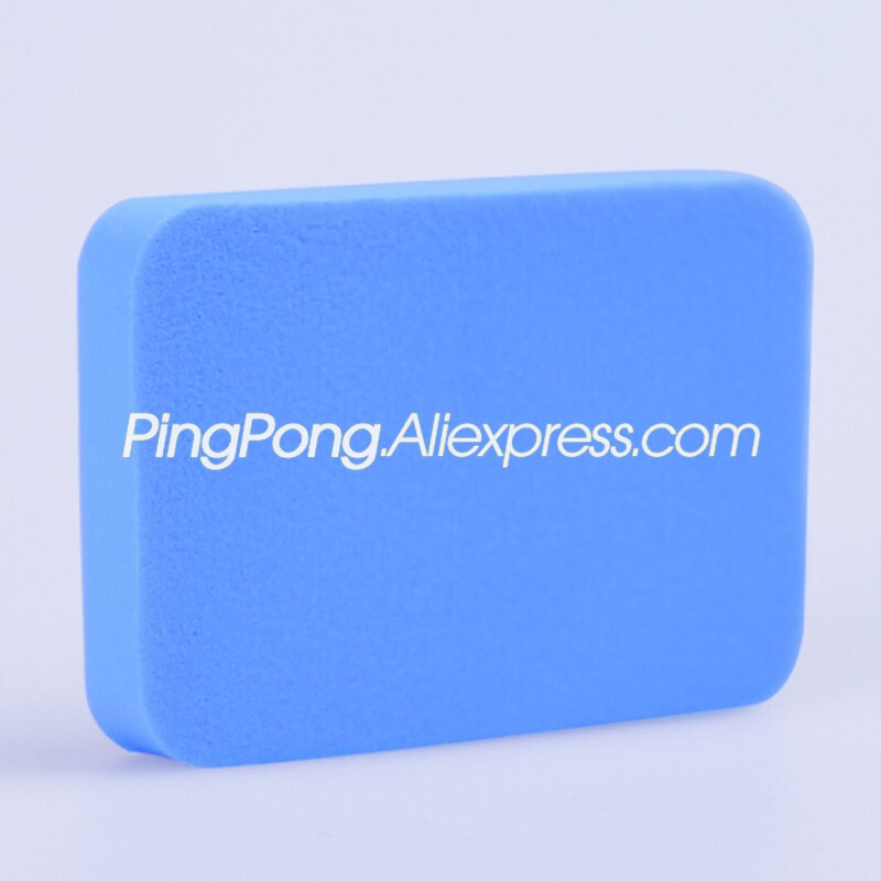 2 Pcs Table Tennis Rubber Cleaning Sponge Professional Ping Pong Rubber Cleaner Rubber Care Accessories