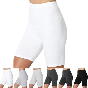 Seamless Sports Short Women Summer High Waist Tight Gym Leggings Squat Proof Tummy Control Workout Running Shorts