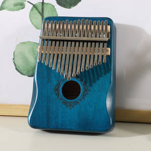Qixingyue Kalimba 17 Keys Calimba Thumb Piano колимба Mbira Muspor Musical Instrument High Quality Mahogany Body With Accessory