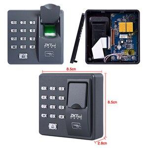 Image 5 - Система считывания отпечатков пальцев, биометрическая клавиатура контроля доступа RFID с клавиатурой и паролем + 10 брелоков