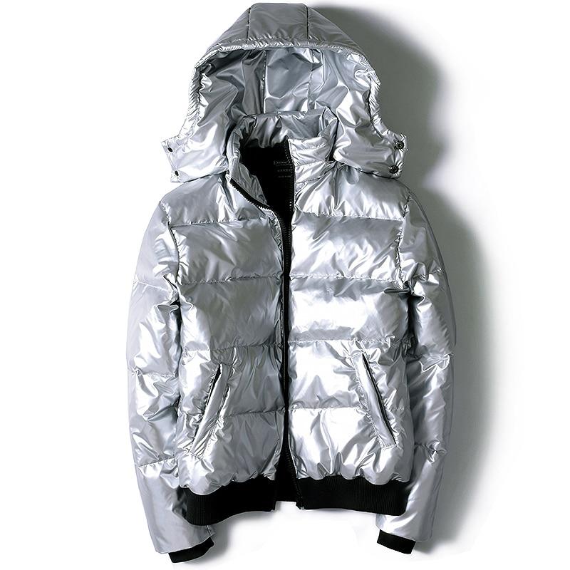 Winter Plus Size 7xl Puffer Men Clothes 2020 Streetwear Light Men's Jacket Hooded Warm Duck Down Coat Y008