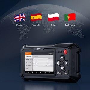 Image 5 - Obdprog m500 obd2 ferramenta de correção odômetro serviço óleo profissional redefinir obd 2 scanner ajuste quilometragem ferramentas diagnóstico do carro