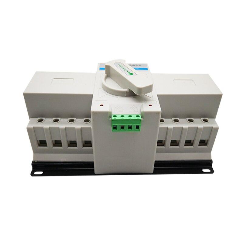 1070.1руб. 5% СКИДКА|Высокое качество двойной/двойной мощности автоматический переключатель передачи 4P 63A 50A 40A 32A 380В ручной интеграции типа MCB|Автоматические выключатели| |  - AliExpress
