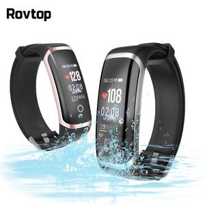 Image 1 - IP67 Waterproof Smart Wristband Heart Rate Monitor Smartband Smart Bracelet Men Women Watch for iOS Android Bluetooth Smartwatch