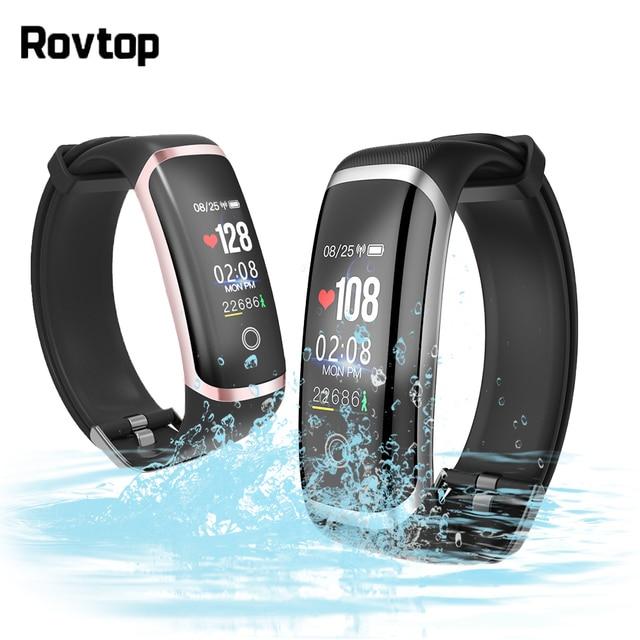 IP67 Waterproof Smart Wristband Heart Rate Monitor Smartband Smart Bracelet Men Women Watch for iOS Android Bluetooth Smartwatch