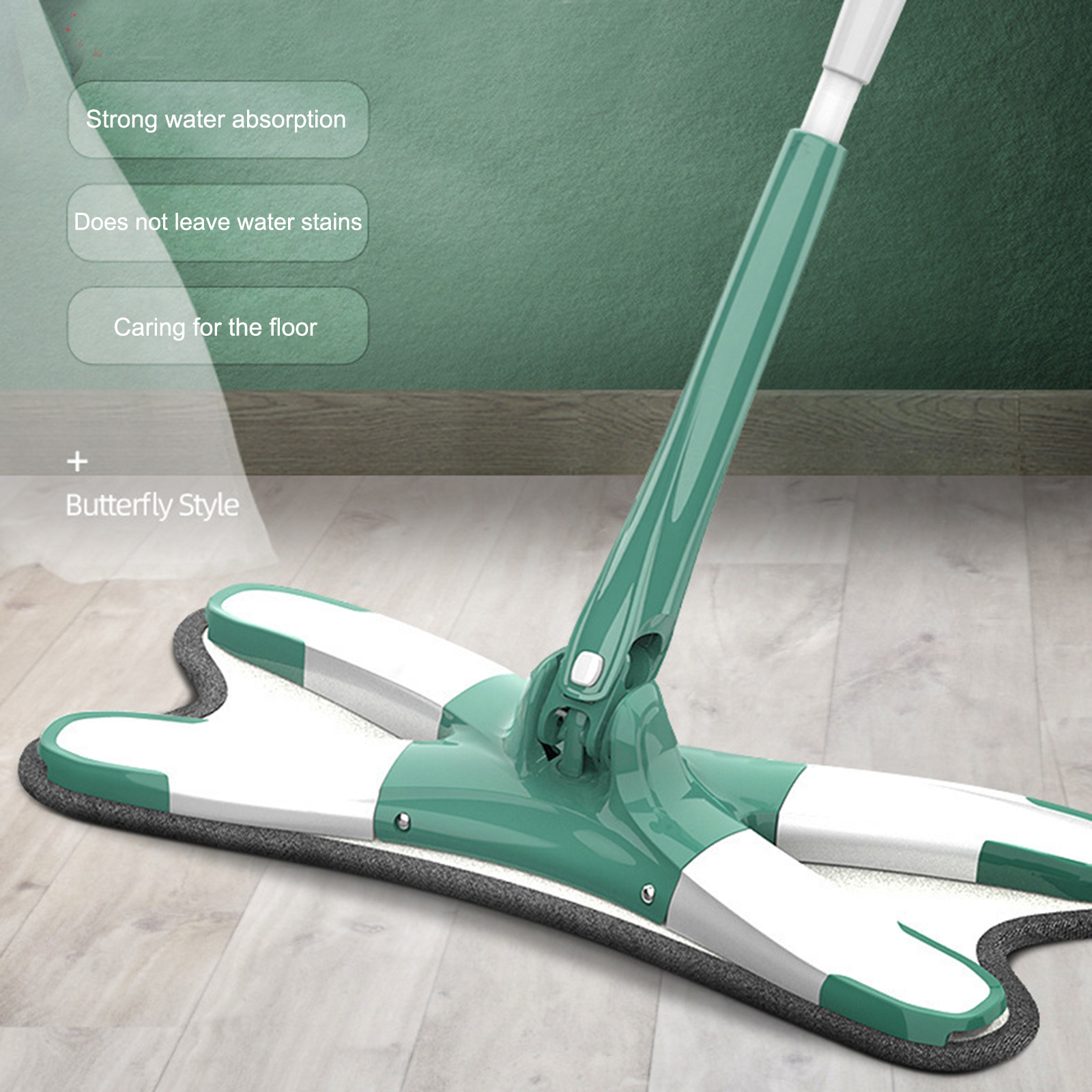 X-type Microfiber Floor Mop Mop Cloth Replace Hand-free Wash Flat Mop Manual Extrusion Household Cleaning Tools Attractive Designs;