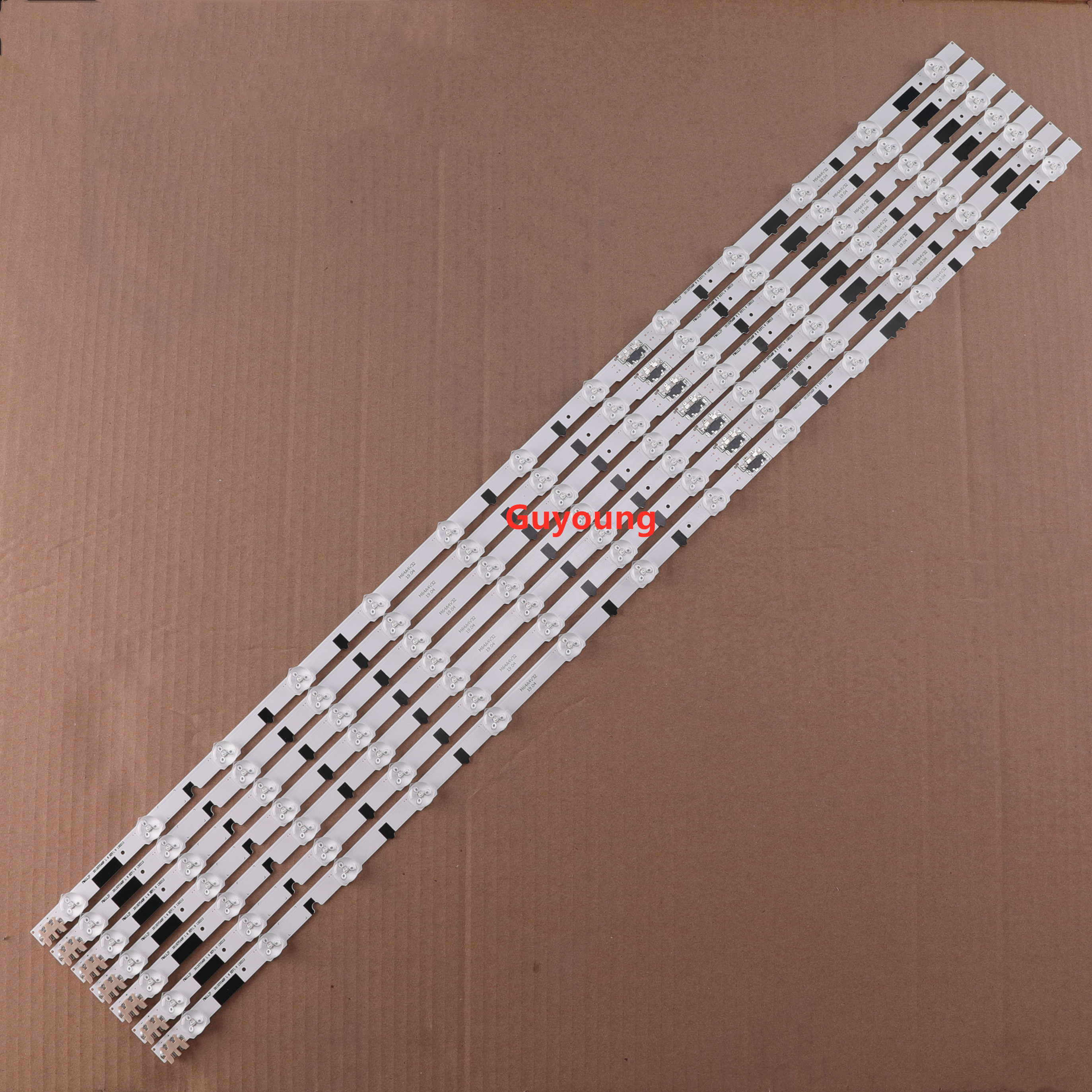 14PCS/set LED Strip For Samsung UE40F6400 D2GE-400SCA-R3 D2GE-400SCB-R3 2013SVS40F L8 R 5 BN96-25520A 25521A 25304A 25305A