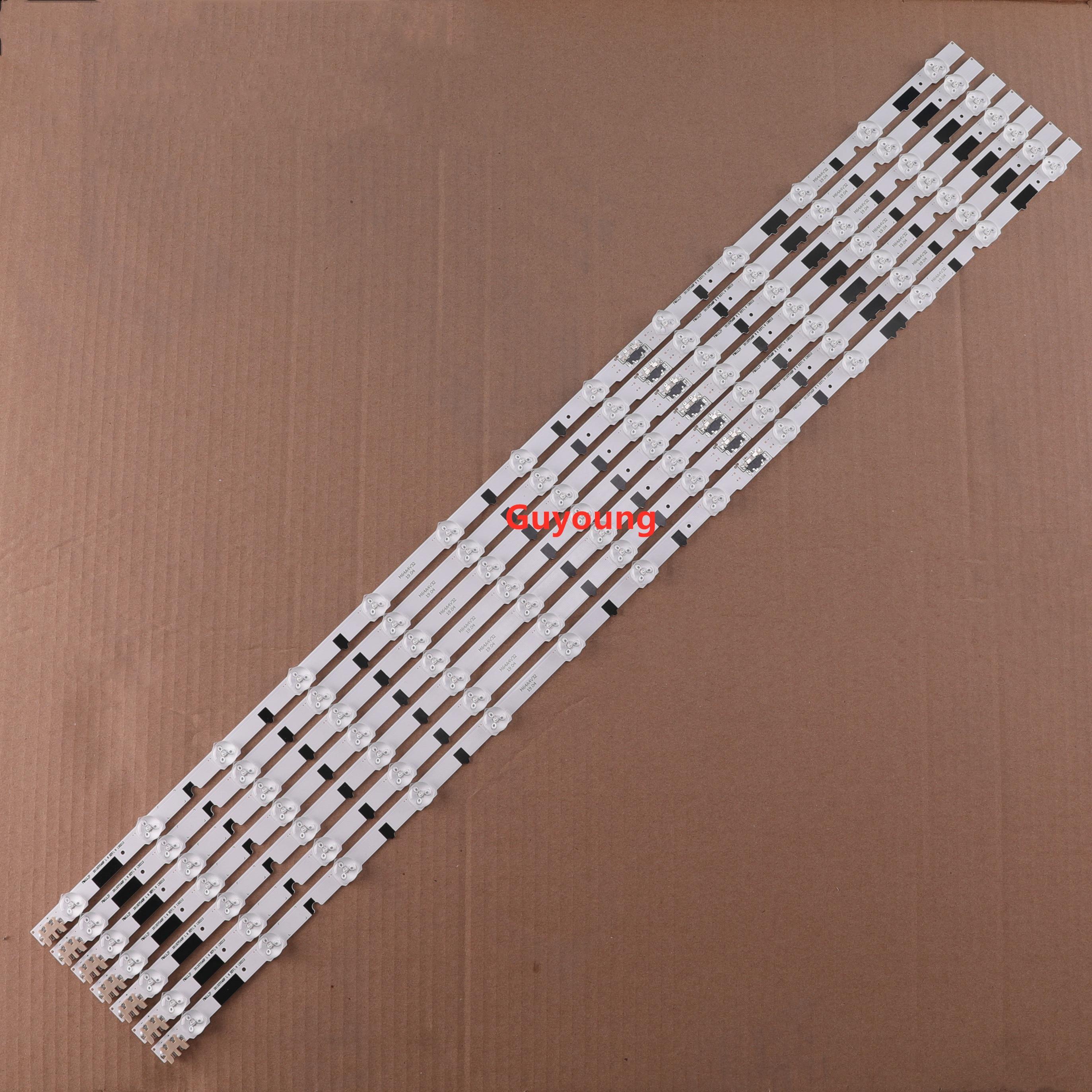 14PCS/set LED Strip For Samsung UE40F6400 D2GE-400SCA-R3 D2GE-400SCB-R3 2013SVS40F L8 R 5 BN96-25520A 25521A 25304A 25305A