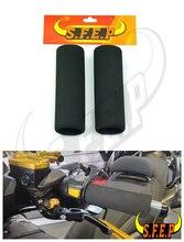 Universal Foam Anit-Vibration Motorcycle Comfort Grip Covers For Suzuki SV650 250 V-Strom GSR750/GSX-S750 B-KING SFV650 GLADIUS все цены
