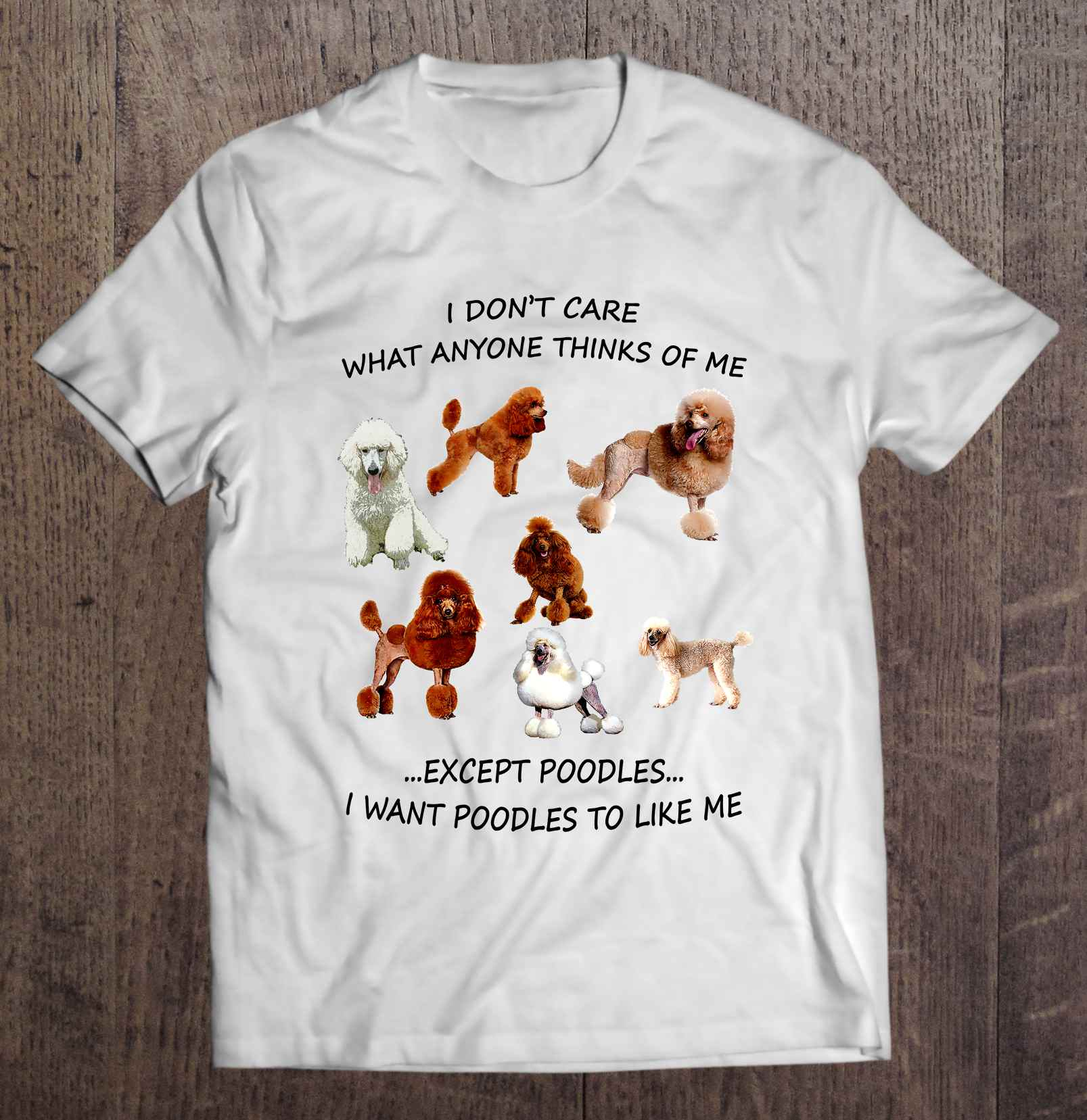 I Don'T Care What Anyone Thinks Of Me Except Pomeranian I Want Dogs To Like Me T-Shirts image