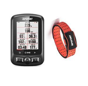 Image 1 - רכיבה על אופניים צבע מסך מחשב GPS iGS618 iGPSPORT Tracker ניווט אופני מד מהירות IPX7
