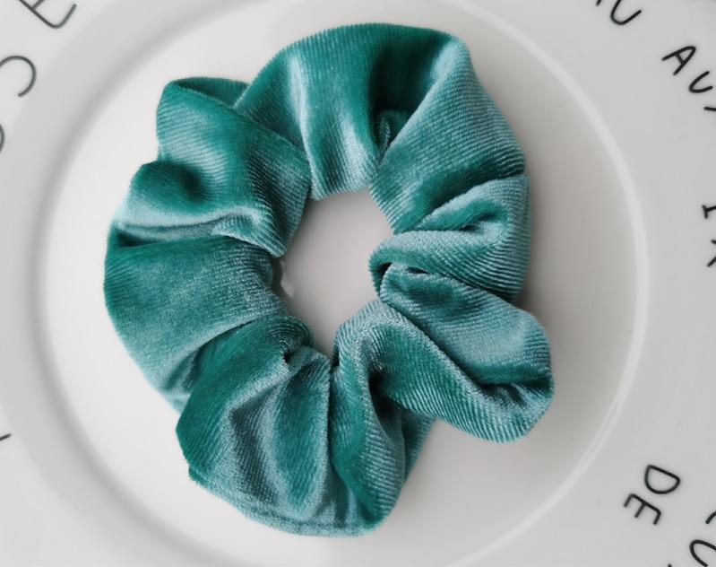Женские бархатные резинки для волос, одноцветные резинки для волос, заколки для волос, эластичные резинки для волос, аксессуары для волос, головные уборы - Цвет: style 16