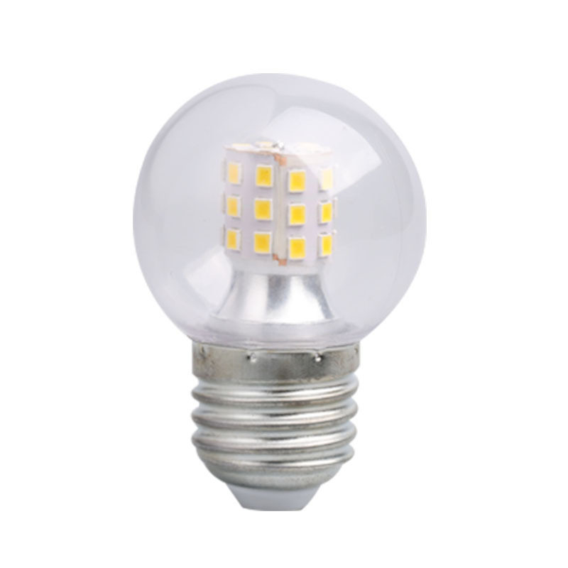 Led Light Lamp Bulb E27 Screw Three-color Dimming Transparent Mini Led Bulb 5w 7w Magic Bean Light Source