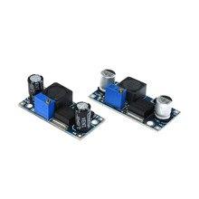 1 pces lm2596 lm2596s LM2596S-ADJ DC-DC step-down módulo de alimentação 4.5-40 v 3a ajustável step-down módulo 24 v 12 v 5 v 3 v