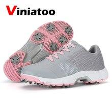 Mens Sneakers Golf-Shoes Luxury Spikes Waterproof Women New Anti-Slip Professional Walking-Footwears