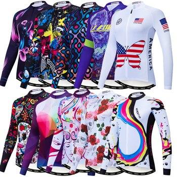 Weimostar-Camiseta de manga larga de Ciclismo para Mujer, ropa para Motocross, de...