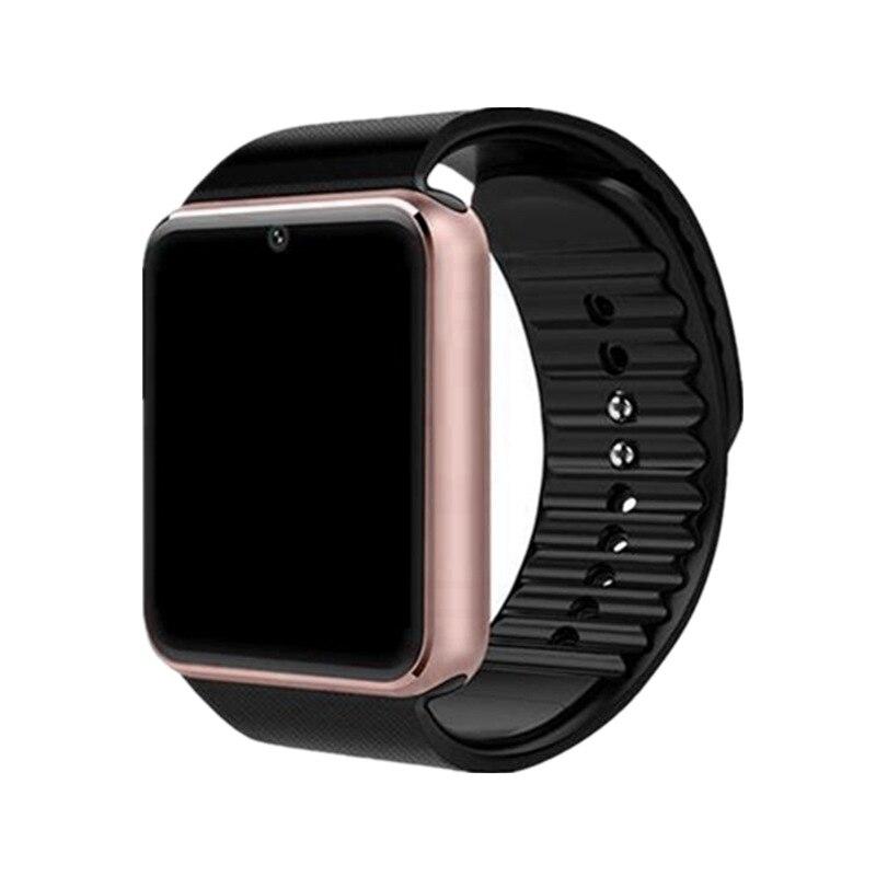 スマート腕時計 GT08 時計同期通知サポート Sim TF カード Bluetooth 接続アンドロイド電話スマートウォッチ合金スマートウォッチ