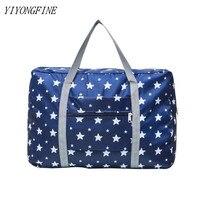 Nylon Faltung Reisetasche, Große Wasserdichte Lagerung Taschen, Tote Große Handtaschen, Kleidung Organizer, Wochenende Tasche, gepäck Taschen