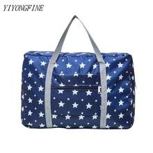 Nylon Folding Travel Bag, Large Waterproof Storage Bags, Tote Large Handbags, Clothing Organizer, Weekend Bag, Luggage Bags