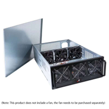 6-Card 8-Card Dedicated Chassis 4u Multi-Graphics Chassis GPU Chassis Server Chassis Air-Cooled Heat Dissipation