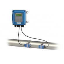 Ultrasonic Flow Meter TUF 2000B TS 2/TM 1 Transducer DN15 100mm/DN50 700mm Liquid FlowmeterติดผนังประเภทโปรโตคอลModBus