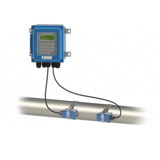 Ultrasonic flow meter TUF 2000B TS 2/TM 1 Transducer DN15 100mm/DN50 700mm liquid flowmeter wall mounted type ModBus Protocol