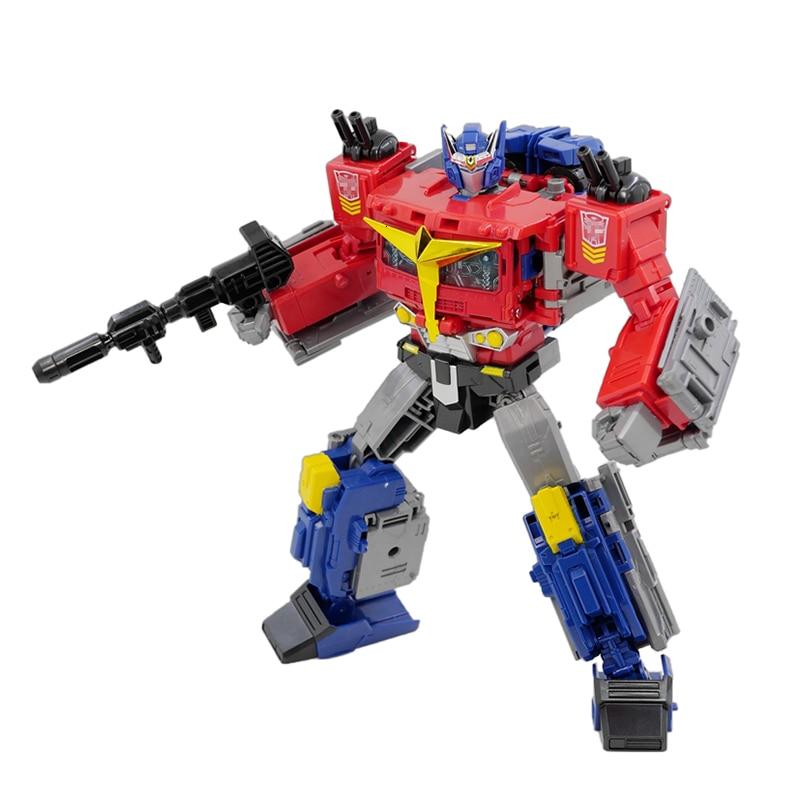 TKR GENERATION SELECTS Transformation Action Figure Toy OP Commander Movie Model Pvc 25cm Deformation Car Robot Truck JPN Ver
