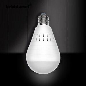 Image 1 - 360 Graden LED Licht 960P Draadloze Panoramisch Home Surveillance Beveiliging WiFi CCTV Fisheye Bulb Lamp IP Camera Twee Manieren audio
