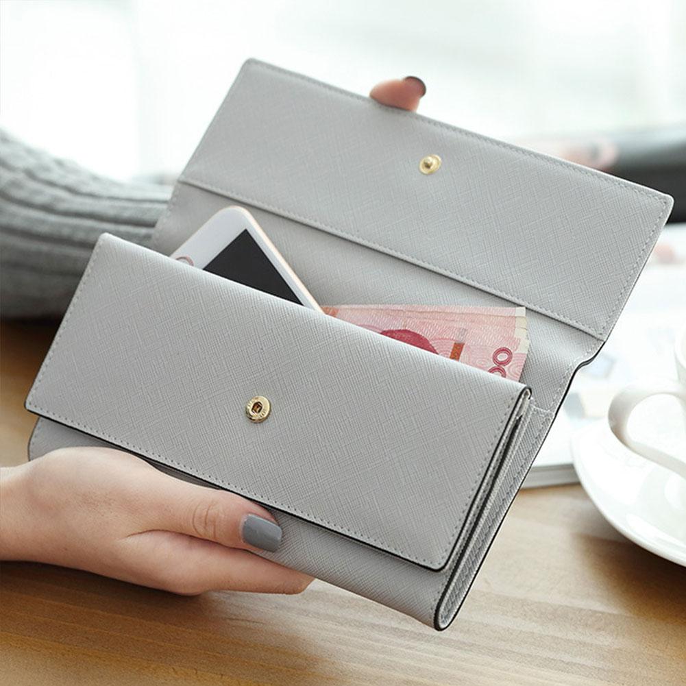 Carteira multifunction do bolso da moeda do