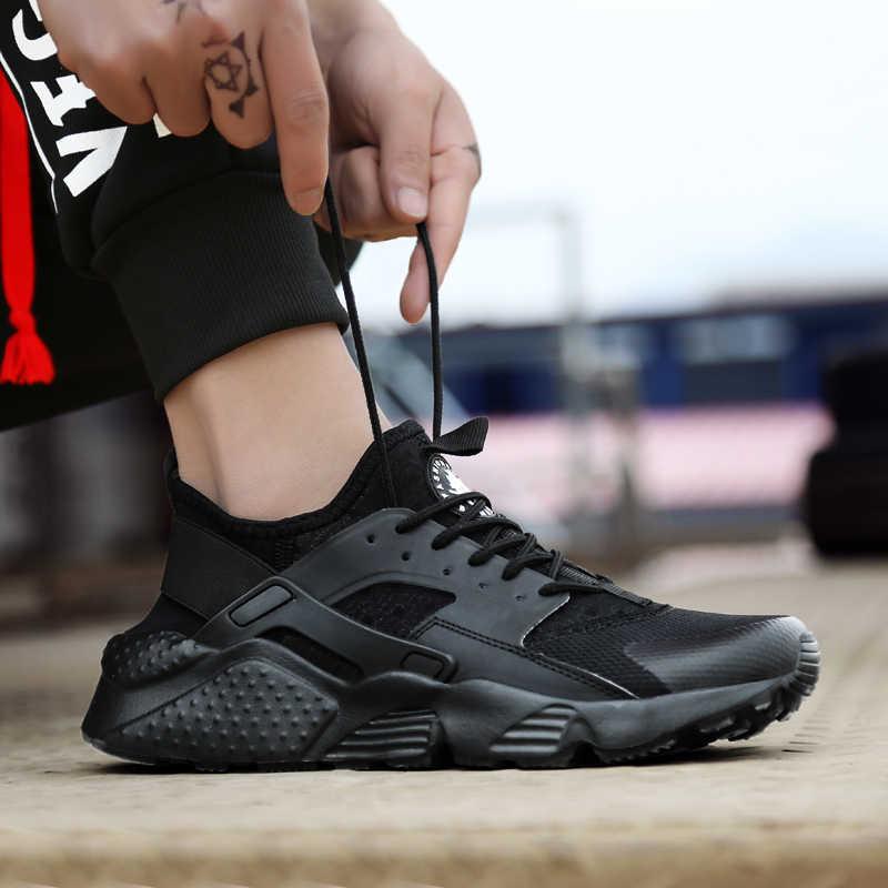 2019 Thương Hiệu Mới Chạy Bộ Nam Lớn Giày 35-47 Thể Thao Màu đen Trắng Đi Bộ Giày Chạy Bộ Thể Thao Giá Rẻ huấn luyện viên