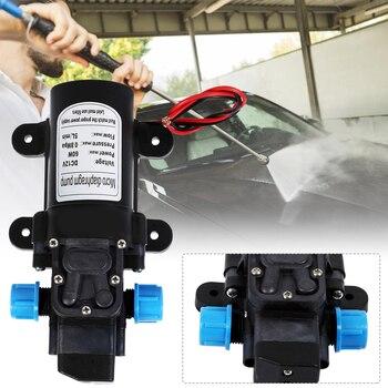 DC 12V 115PSI 5L/Min Water High Pressure Diaphragm Self Priming Pump 60W 5 5l min 24v dc 80w high pressure self priming sprayer pump electric diaphragm pump