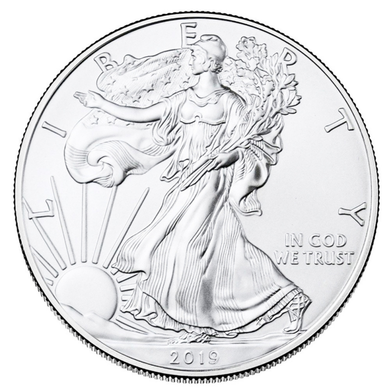 American Statue Of Liberty Silver Plated Commemorative Coin Eagle Claw Collection Coin Morgan Dollar Us Coins