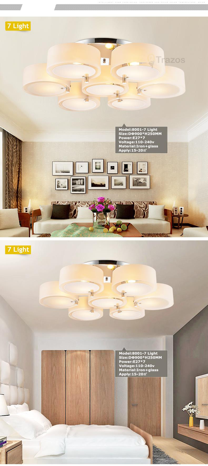 H1d9d49cd5c0a41d19959f761391347b23 NEW 2019 Modern Ceiling Lights modern fashionable design dining room lamp pendente de teto de cristal white shade acrylic lustre