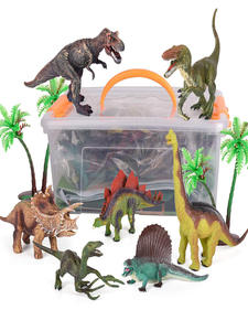 Dinosaur-Toys T-Rex-Triceratops-Ect Figures for Boys And Girls 3-years-old/Up-pack/Of/9