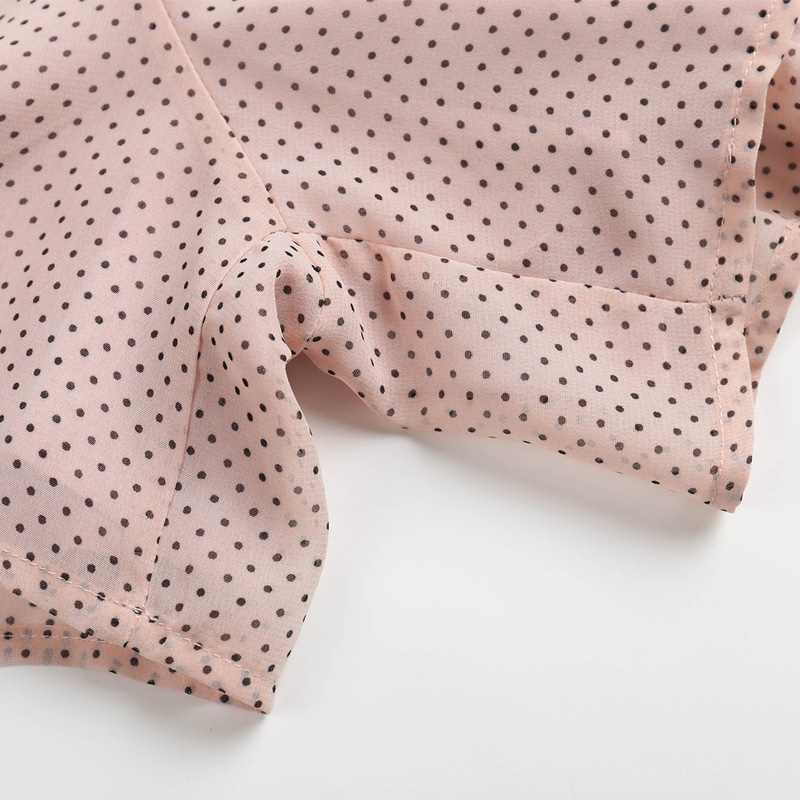 Summer women's casual polka dot printing button decoration slim fit jumpsuit
