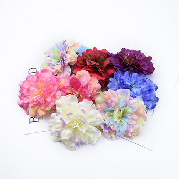 2/5/10 Pieces 11CM wedding flowers for scrapbooking household products christmas decorations for home artificial flowers cheap image
