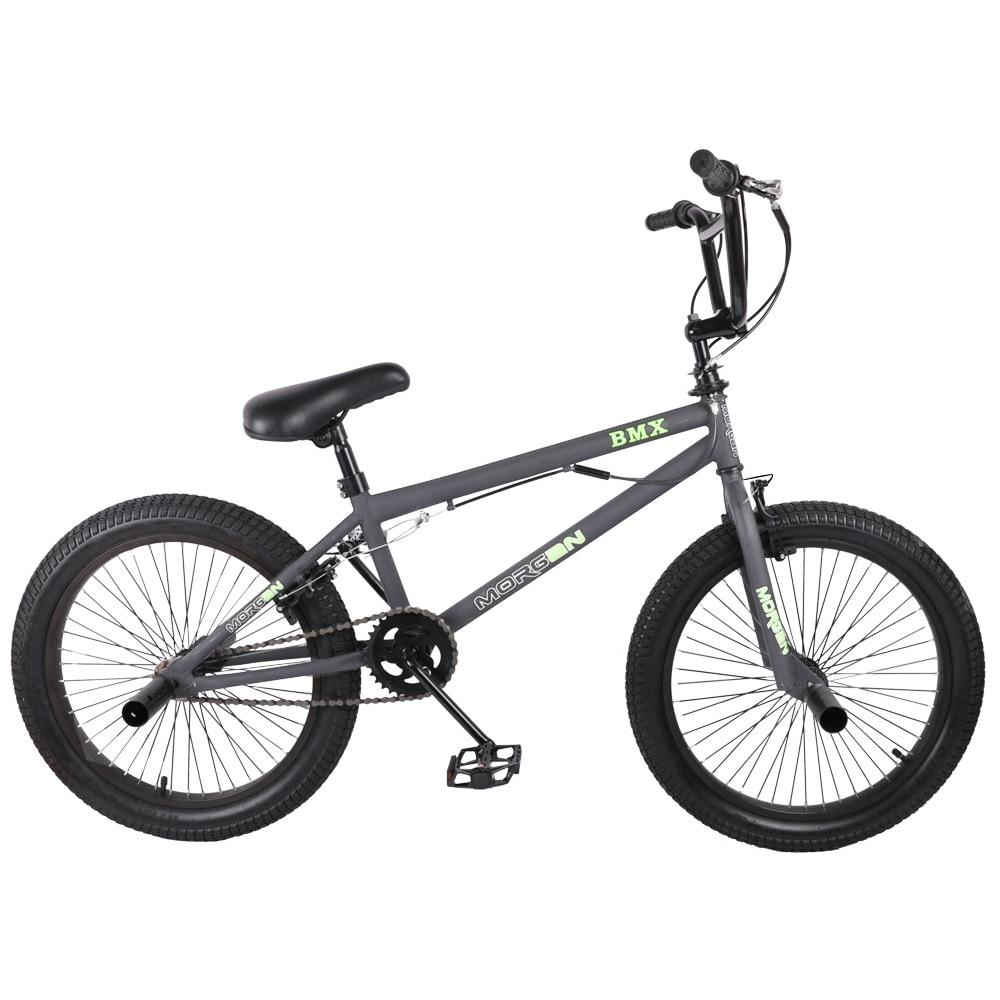 HILAND 20 BMX Bike Freestyle Steel Bicycle Bike Double Caliper Brake Show Bike Stunt Acrobatic Bike HILAND 20'' BMX Bike Freestyle Steel Bicycle Bike Double Caliper Brake Show Bike Stunt Acrobatic Bike