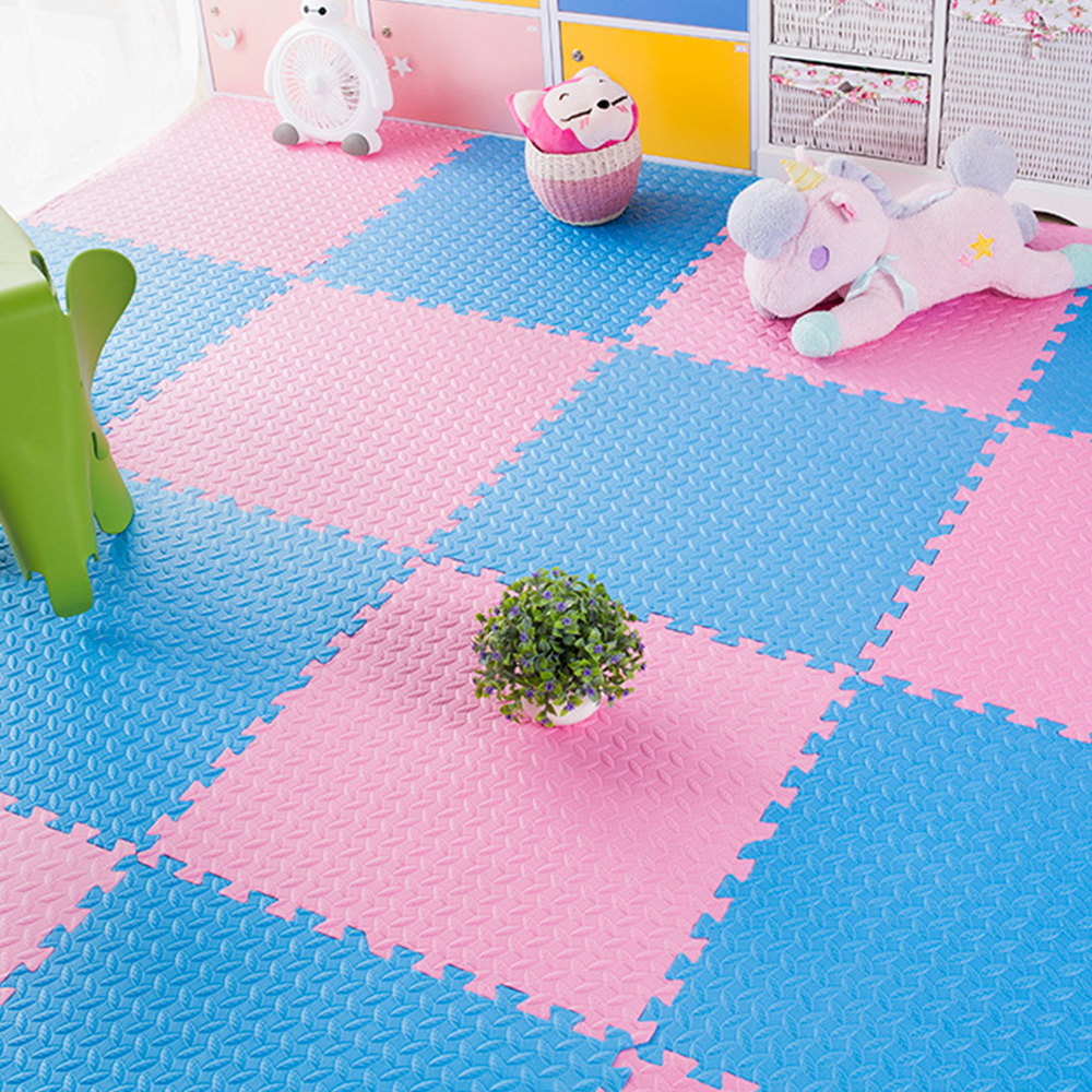 10pcs/Lot 30*30cm Baby EVA Foam Puzzle Play Mat Kids Rugs Toys Carpet Child Safety Kids Room For Crawling Play Toys Kids Playmat