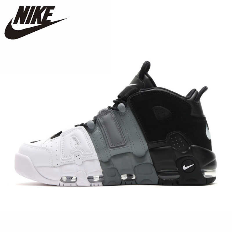 NIKE AIR UPTEMPO Original New Arrival Men Basketball Shoes Comfortable Sports Sneakers #921948-002