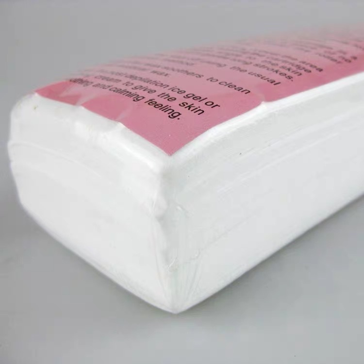 With Waxing Specially Thickened Non-woven Waxing Paper Waxing Wax Waxing Paper White 100 Pieces